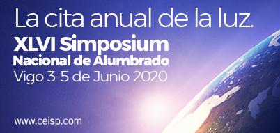 La cita anual de la luz: XLVI Simposium Nacional de Alumbrado. Vigo 3 al 5 de junio de 2020. ceisp.com