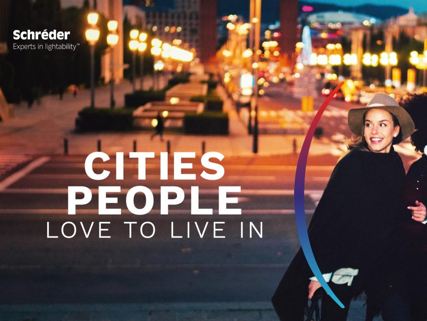 Schréder Cities people love to live in
