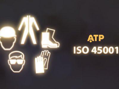 ATP obtiene la certificación ISO 45001:2018