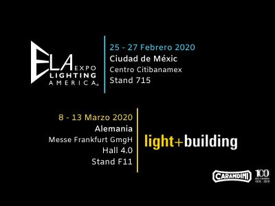 Carandiini estará en ELA y en Light and Building 2020