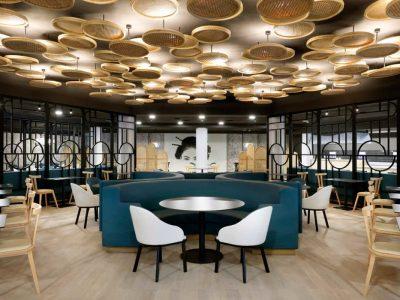 Proyecto de iluminación del Hotel Palladium, por Secom Iluminación