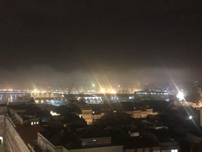 Skyline iluminado