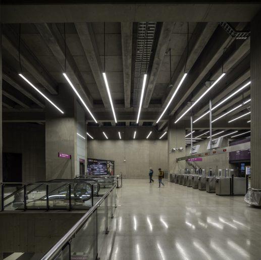 Lamp Metro de Chile
