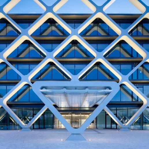 Edificio Oxxeo detalle fachada