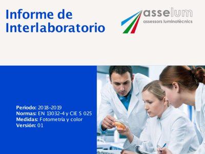 Informe de Interlaboratorio de Asselum