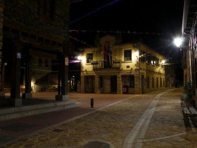 Ayuntamiento Puebla de la Sierra con su nueva iluminación led de Artesolar