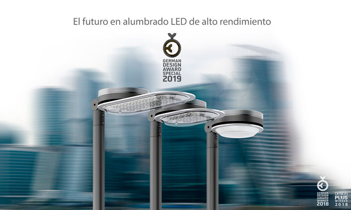 Aire de ATP Iluminación recibe el German Design Award