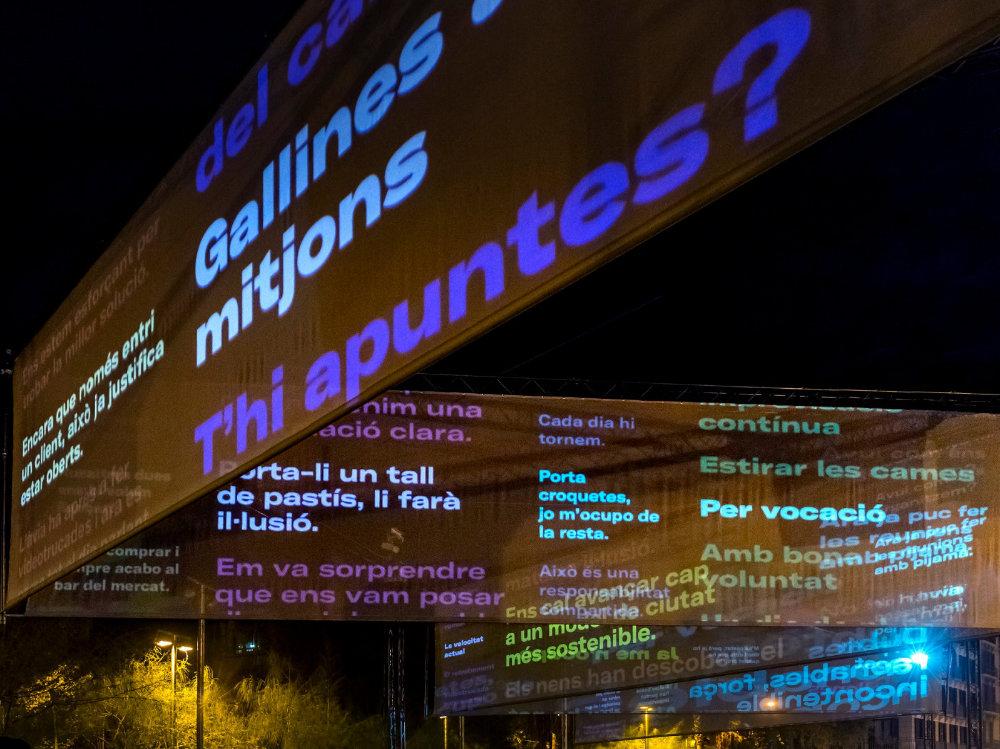 Proyecto Bastir de nou el món de la invisble en la Plaza Universitat de Barcelona