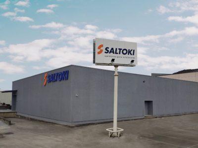 El nuevo centro de Saltoki en Iurreta, vista de la fachada.