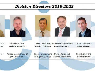 Los nuevos directores de la CIE