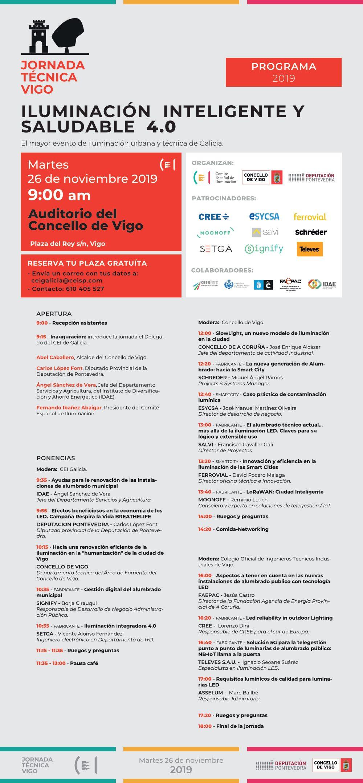 Programa Jornada en Vigo