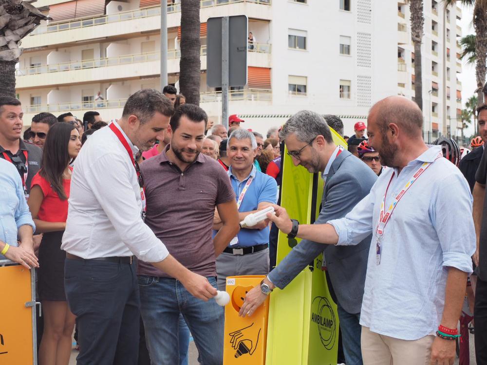 Alcalde de Cullera, Jordi Mayor y Presidente de la Diputación de Valencia, Toni Gaspar
