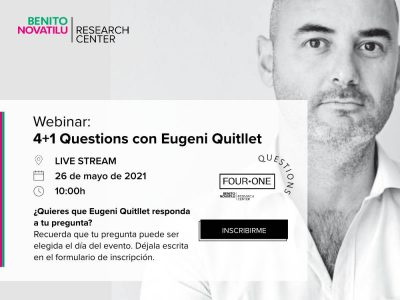 Webinar 4+1 Questions con Eugeni Guitllet