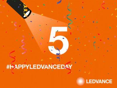 Ledvance 5 aniversario