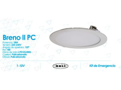 Downlight Breno II PC de Prilux