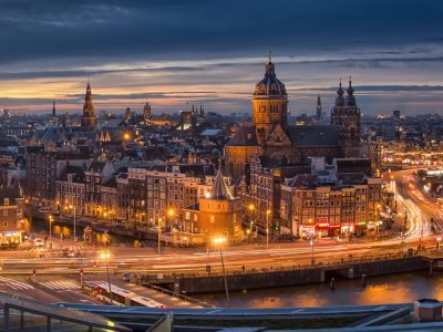 Setga ilumina Amsterdam