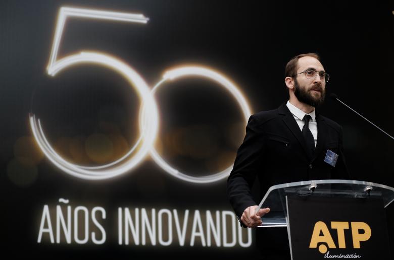 Guillermo Redrado, vicepresidente de operaciones de ATP Iluminación