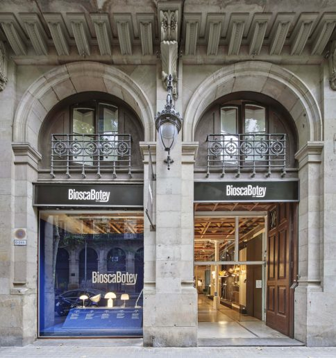 Fachada de Biosca Botey en Barcelona