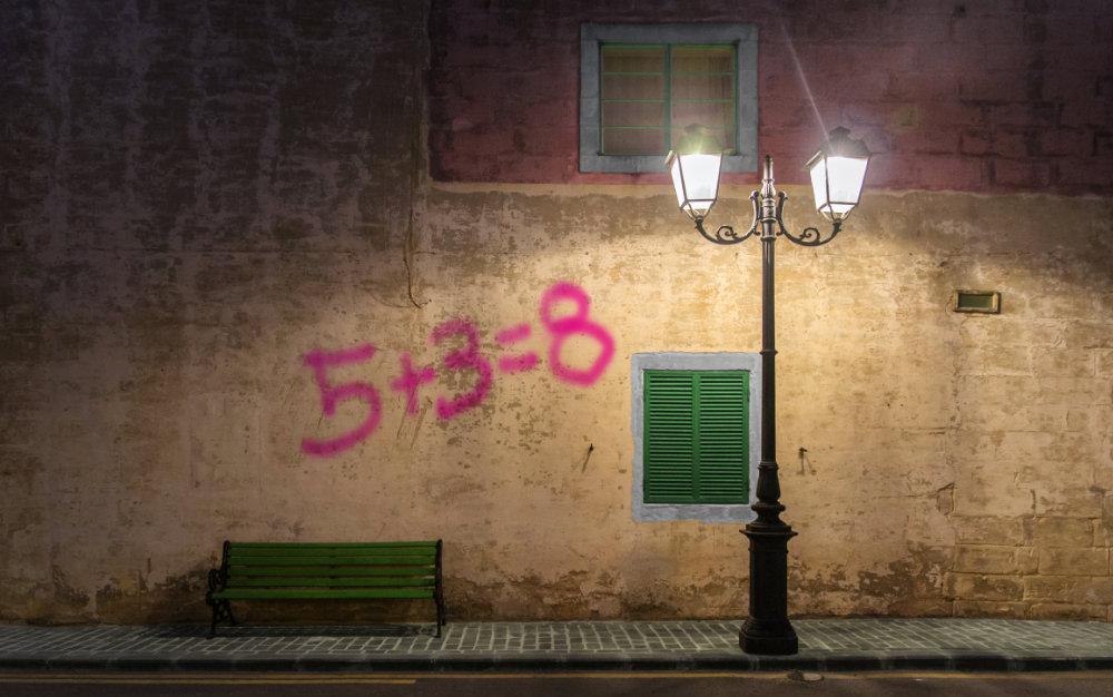 Ledvance lámpara en la calle