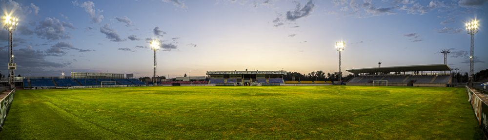 Patronato Deportivo de Guadalajara iluminado por Schreder