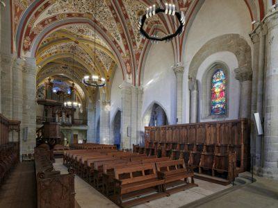 Templo de Lutry interior