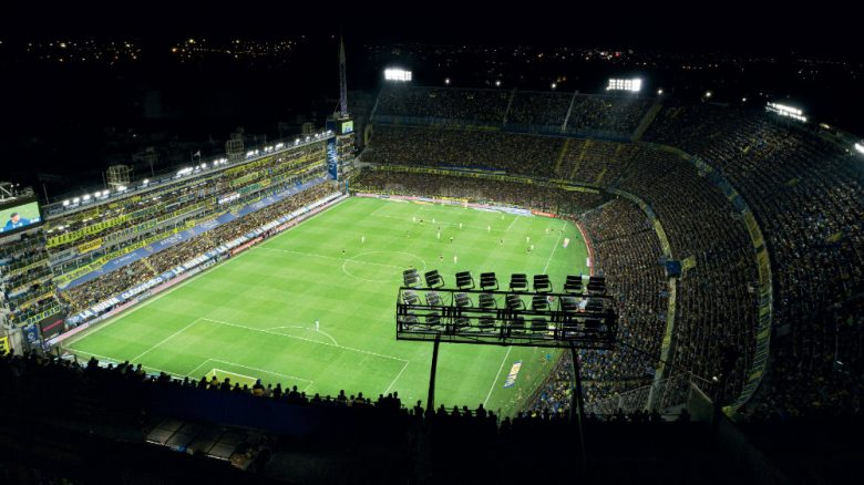 Estadio Boca Juniors Buenos Aires con iluminación de Thorn
