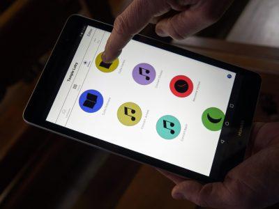 Control de iluminación con tablet