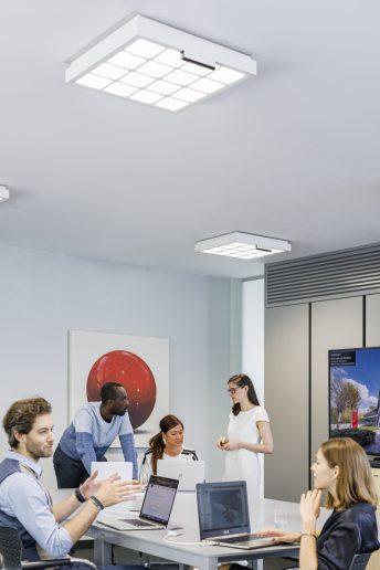 Oficina iluminación Trulifi de Signify