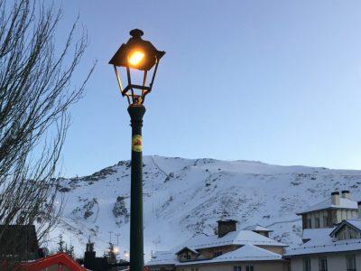 Televés ilumina Monachil en Sierra Nevada