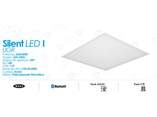 Silent LED I UGR de Prilux